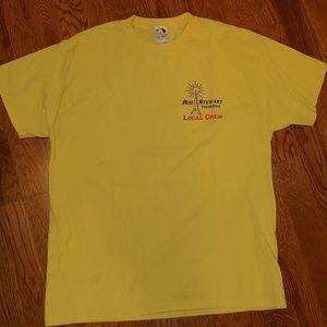 Rod Steward 2004 Local Crew t shirt size XL